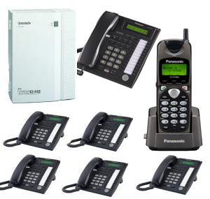 Panasonic home phone system panasonic home phone system with 6 phones and 1 cordless phone sciox Choice Image