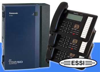 Panasonic KX-TDA50G + 3 Phones [tda50gk3-1] - $1,072 00